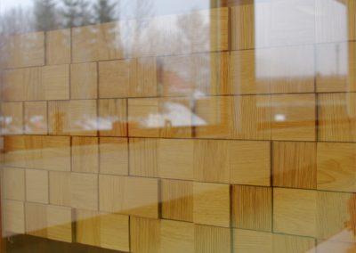 Voglauer V Quadro Hänger aus Glas