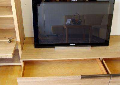 Voglauer V Quadro Lowboard mit offenen Schubladen