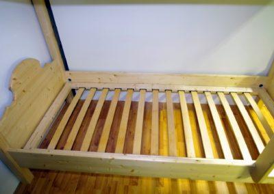 Handgefertigtes Zirbenholz-Doppelbett 15