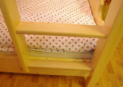 Handgefertigtes Zirbenholz-Doppelbett 16