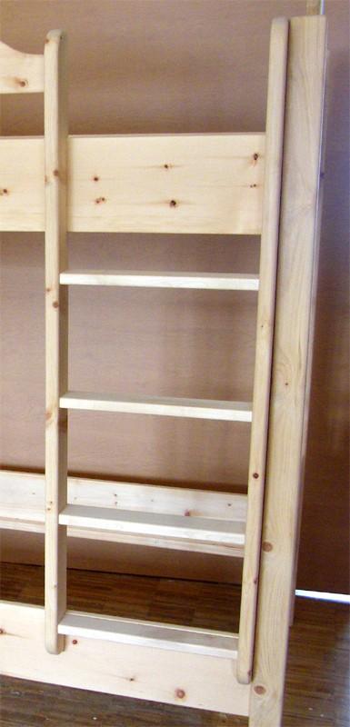 Stockbett eigene Herstellung Leiter