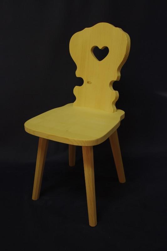 Sessel Stühle auf Lager - Bauernsessel mit Herz