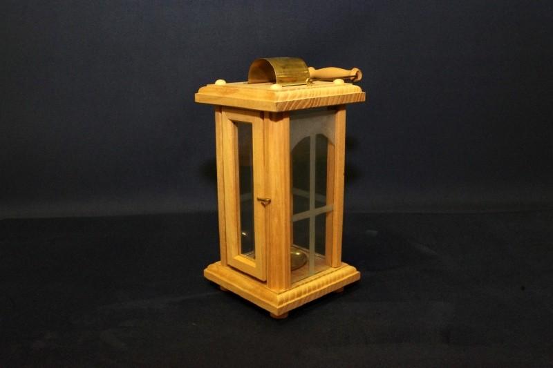 Verglaste Laternen-Lampe klein