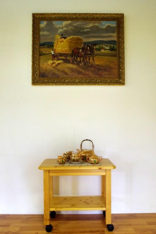 Teewagen - TV-Tisch  mit Rollen eigene Herstellung