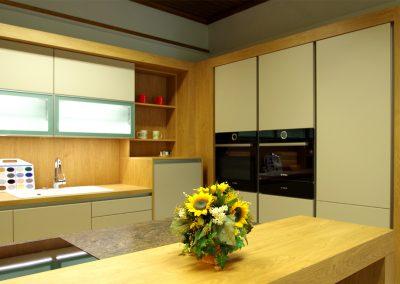 Designer-Küche Lionga DAN 16