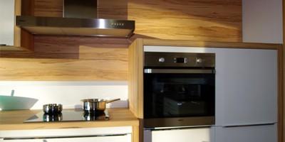 DAN Küche Andros weiß glänzend