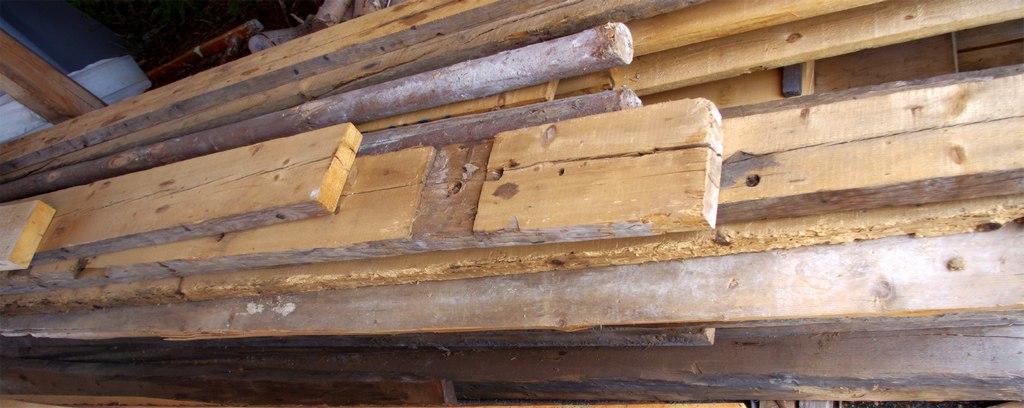 Altholz verschiedene Bretter