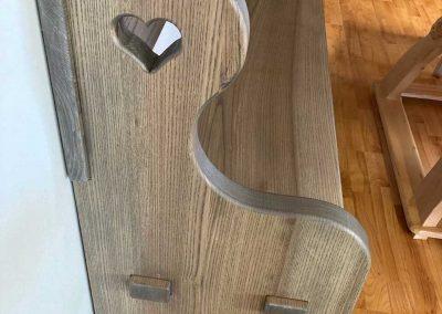 Handgefertigte Sitzbank 1 Schmuckstück aus der Tischlerei 5