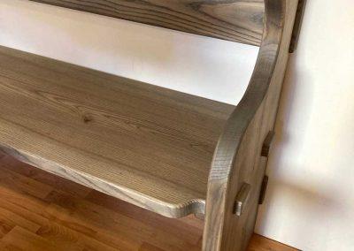 Handgefertigte Sitzbank 1 Schmuckstück aus der Tischlerei 6